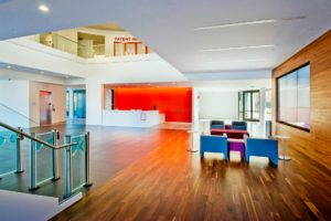 FaciliCorp manges design and build of corporate lobby for SanDisk